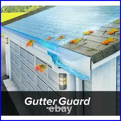 10-PACK Gutter Guard 4 ft. Stainless Steel Micro Mesh Use on 6 and 7 Gutters
