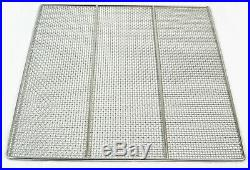 10 Pack 23 X 23 Donut Screen, 304 Stainless Steel, Heavy Duty Commercial Grade