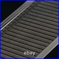 10 Pack Gutter Guard Stainless Steel Micro Mesh Leaf Filter Debris 4ft L x 5'' W
