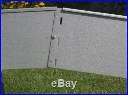 10 Pack Lawn Edging Border Lawn V2A Stainless Steel 18 cm high