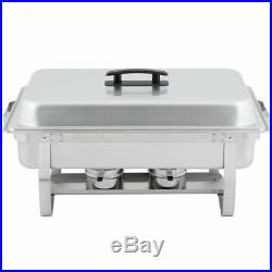 12 Pack Full Size Buffet Catering Stainless Steel Chafer Chafing Dish Sets 8 Qt