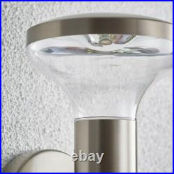 2 PACK IP44 Outdoor LED Lamp Stainless Steel Wall Light Porch Vase Cool White