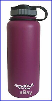 24-Pack AquaFlask 32oz Insulated Stainless Steel Bottles Sold as Lot