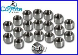 25 Pack Lot 1/2 NPT 316 Stainless Steel Thread Weld Bungs Coyote Gear SS 304