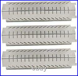3 Pack BBQ Barbecue Replacement Gas Grill Stainless Steel Heat Plate Shield Tent