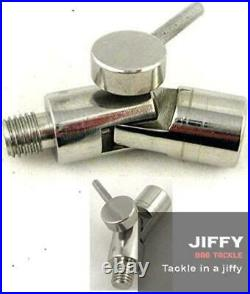 3 Pack Stainless steel angle lock