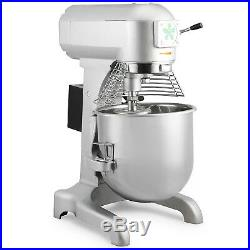30l Food Dough Stand Mixer Three Speed 1100w Motor Commercial Strong Packing