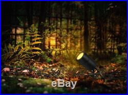 4 Pack Matt Black Stainless Steel Outdoor Garden Spike Light Adjustable ZLC020B