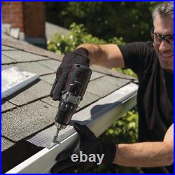 4 ft. Roof Gutter Guard Protection 6 in. Micro-Mesh Rain Debris Filter (20-Pack)