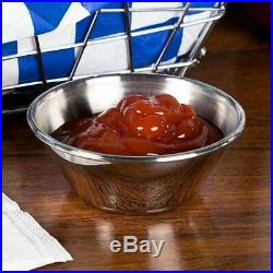 (576 Pack) 1.5 oz Sauce Cups, Stainless Steel Condiment Cups / Portion Cups