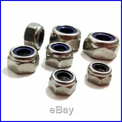 A2, 1/4 5/16 3/8 1/2 5/8 Unf Full Half Nuts Dome Wing Washers Spring Washer