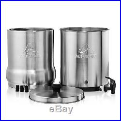 Alexapure Pro Stainless Steel Water Filter Filtration Purify System (2 Pack)