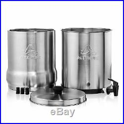 Alexapure Pro Stainless Steel Water Purification Filter Purify System (4 Pack)