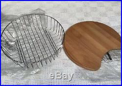 Astracast Round Bowl & Drainer Pack Including Chopping Board And Bowl Basket