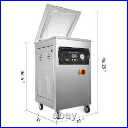Automatic Vacuum Packing Sealing Machine DZ-400S 1000W 1Kpa Package Preserving