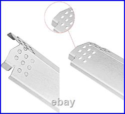 BBQ Grill Stainless Steel Heat Plates 5-Pack Replacement for Nexgrill 720-0830H