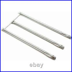 BBQ Grill Weber Grill 3-Pack Stainless Steel 29 Burner Set Plus 1 Crossover Bu