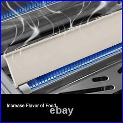 BBQ Heat Plates Stainless Steel 8-Pack For Weber Summit 400 E/S 450/440/460/470