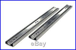 Ball Bearing Full Extension 10-24 Soft Close Drawer Slides 15 Pairs Value Pack