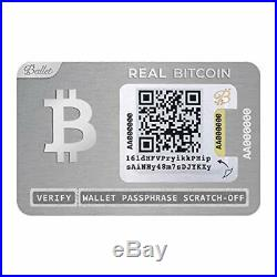 Ballet (3-Pack) Cryptocurrency Physical Wallet, REAL Series Stainless Steel