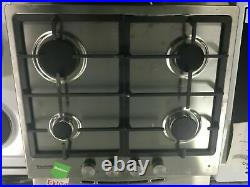 Baumatic BGPK600X Built In Electric Single Oven and Gas Hob Pack #267713