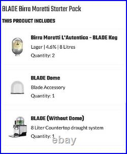 Blade Birra Moretti Starter Pack See Photos For What It Includes