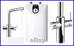 Boiling Hot Water Kitchen Tap Instant Cold Warm Mixer Unit 3 in 1 Pack QUALITY