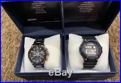CASIO Pro Active Bundle Pack Edifice & Mud Resist Mens Watches Gift Set In Box