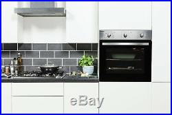 Candy COGHP60X Gas Hob with Single Multifunction Oven Pack