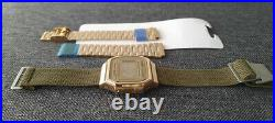 Casio 2 pack SCRATCHED GMWB5000D-1D and Unused A16W with two straps