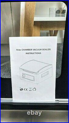 Chamber vacuum packing machine for sous vide and general food storage