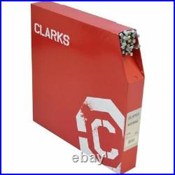 Clarks MTB BMX Hybrid Bike Brake Cycle Inner Cable Wire Stainless Steel 100 Pack