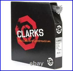 Clarks MTB Hybrid Road Bike Cycle Gear Inner Cable Wire Stainless Steel 100 Pack