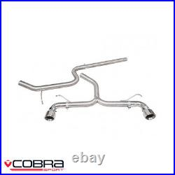 Cobra Sport Volkswagen Golf MK7 GTD Without Sound Pack Cat Back Exhaust VW30