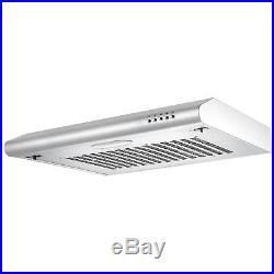 Cookology 60cm Built-in Electric Fan Oven, Cast-Iron Gas Hob & Cooker Hood Pack