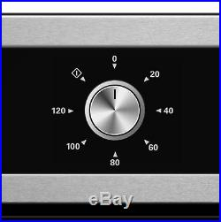 Cookology 60cm Built-in Electric Fan Oven, Cast-Iron Gas Hob & T-Shape Hood Pack
