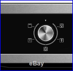 Cookology 60cm Digital Timer Fan Oven & Touch Control Ceramic Hob Pack