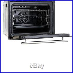 Cookology 60cm Pyrolytic Self Cleaning Fan Oven & Gas-on-Glass Hob Pack
