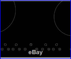 Cookology 72L Built-In Stainless Steel Oven & 60cm Ceramic Hob Pack