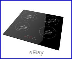 Cookology 72L Built-In Stainless Steel Oven & 60cm Induction Hob Pack