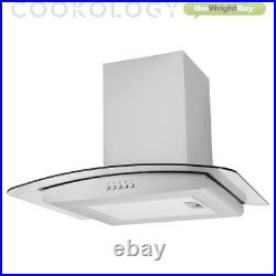 Cookology 72L Built-in Electric Oven, 60cm Induction Hob & Cooker Hood Pack