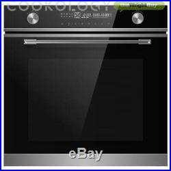Cookology 72L Built-in Touch & Dial Control Electric Oven & 60cm Hob Pack
