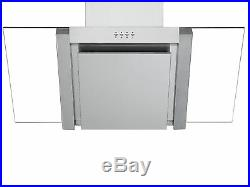Cookology 90cm touch control Ceramic Hob & Angled Glass Chimney Cooker Hood Pack