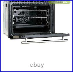 Cookology Pyrolytic Electric Oven, Touch Induction Hob & Visor Cooker Hood Pack