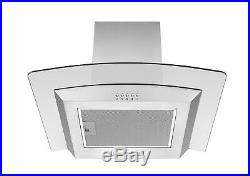 Cookology Stainless Steel Built-under Double Oven, Gas Hob & Curved Hood Pack