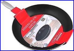 Cookware Induction Bottom Aluminum Nonstick Frying-Pan 11 With Stainless Steel Ut