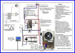 Cool Energy Complete Air Source Heat Pump Heating & Hot Water System Pack 5