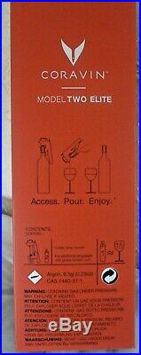 Coravin Model Two Elite Wine Dispensing System Red Plus Pack RRP £279.00