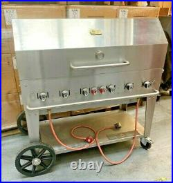 Crown Verity MCB48PACK 99,000 Btu/Hr Professional Barbecue System GRADED