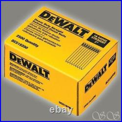 DEWALT DCS16200 10 Pack 2-Inch 16 Gauge Straight Finish Nail, 2,500/Pack